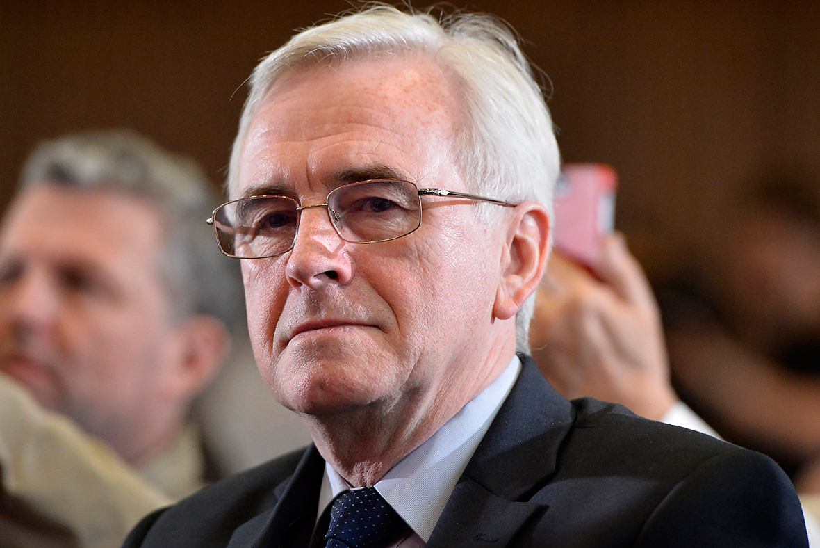 John McDonnell: Labour will introduce a 'real Living Wage'