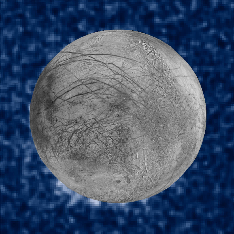 europa water vapour plumes