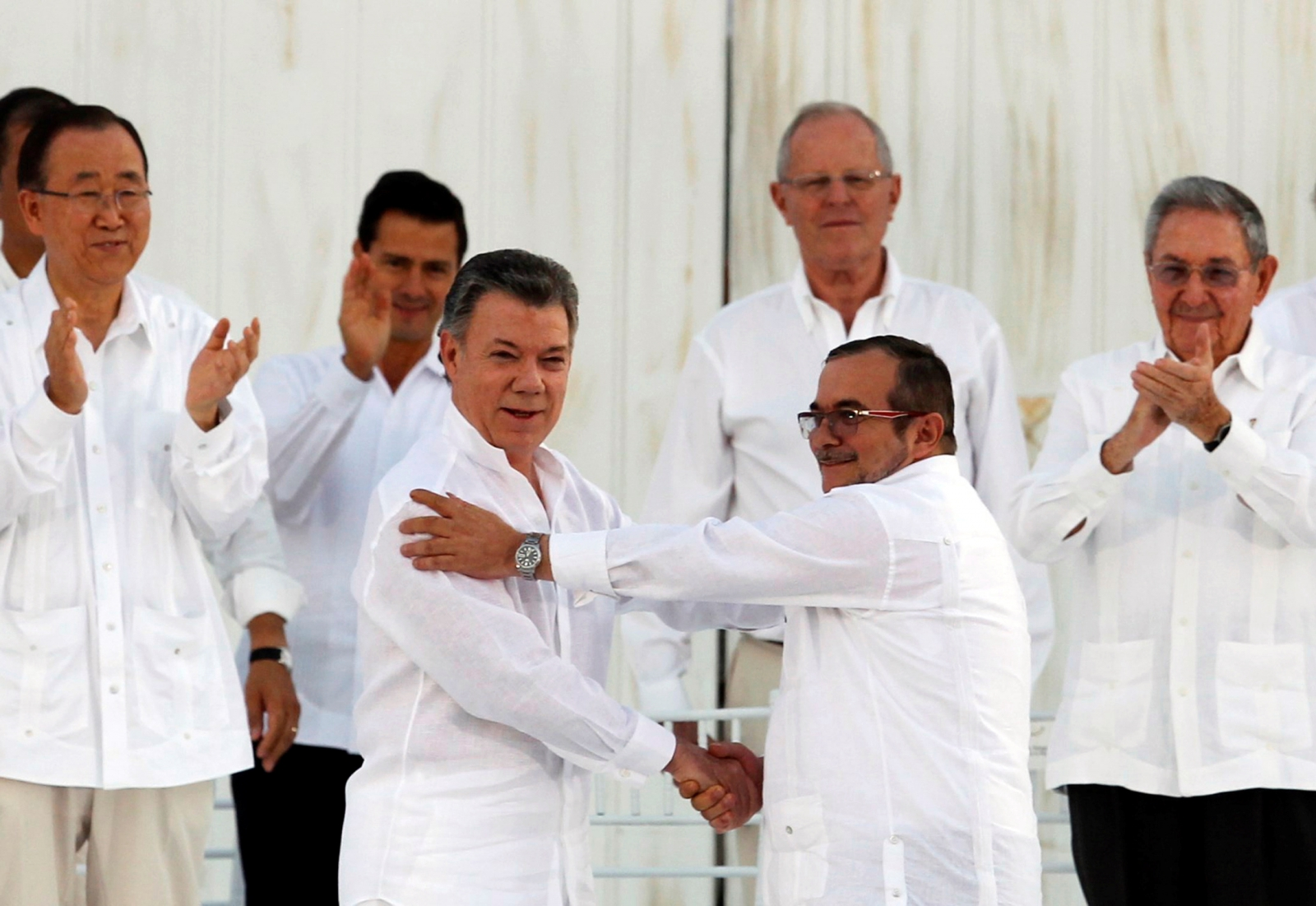Columbia-Farc peace deal