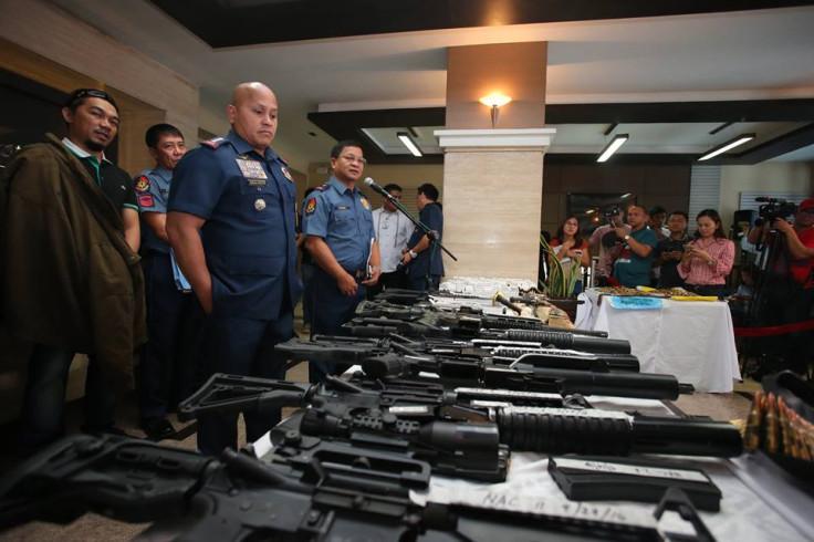 PNP seizes arms cache