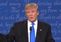 Donald Trump debate sniffles cause social media sensation