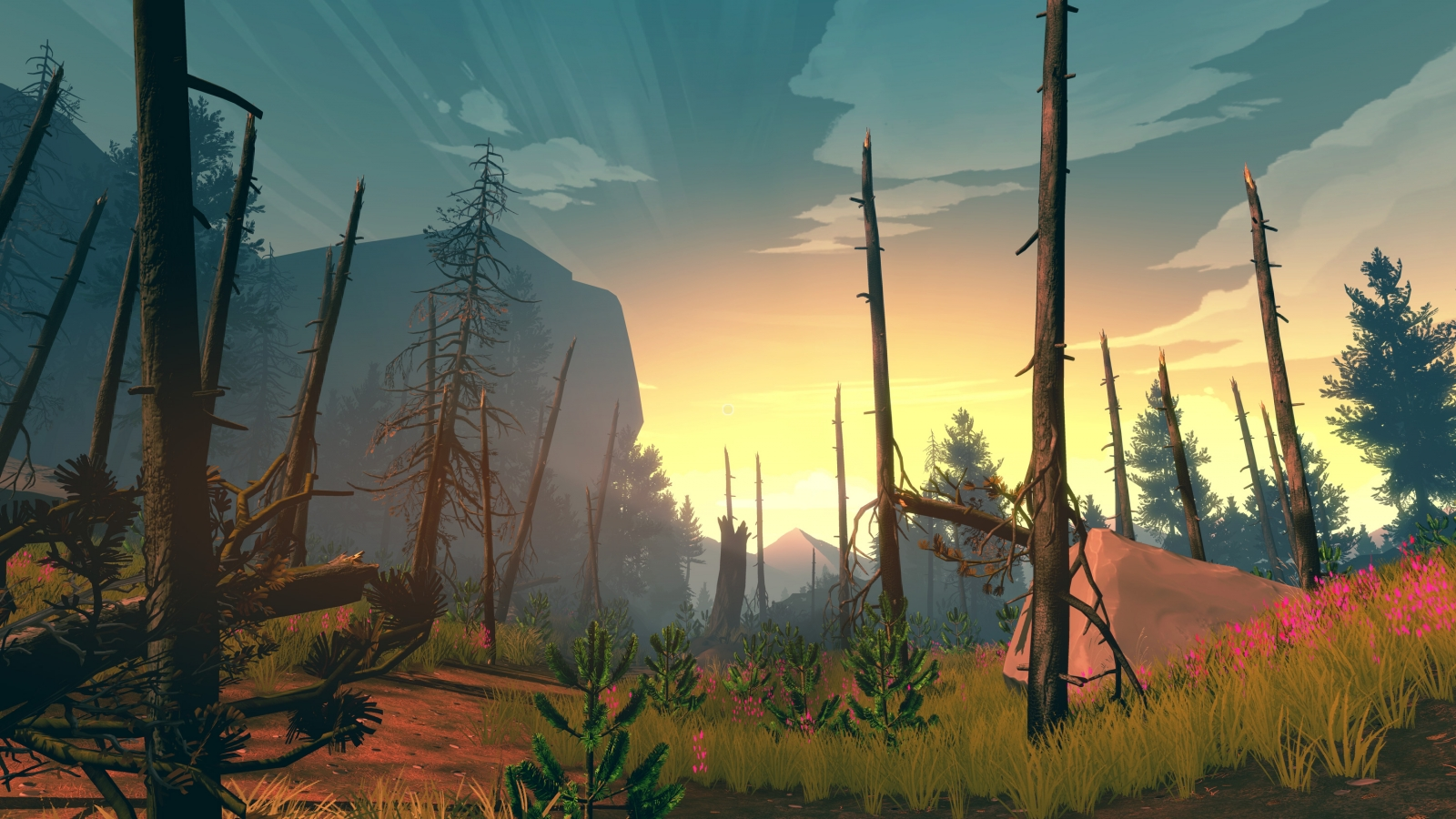 Firewatch game PS4 Xbox One