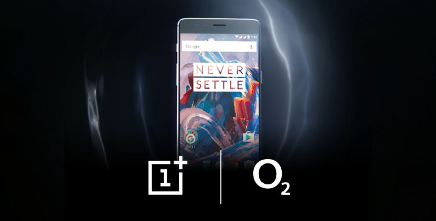 OnePlus 3 exclusively coming to O2 UK
