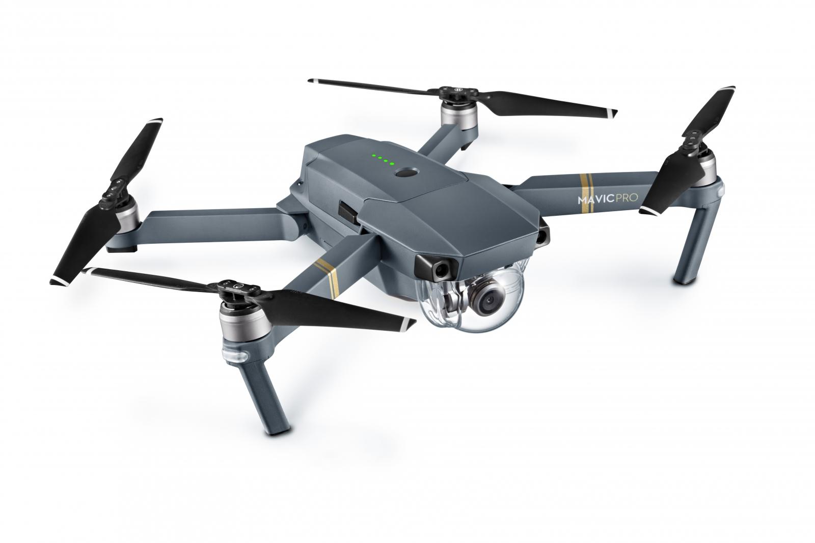 DJI's Mavic Pro foldable selfie drone