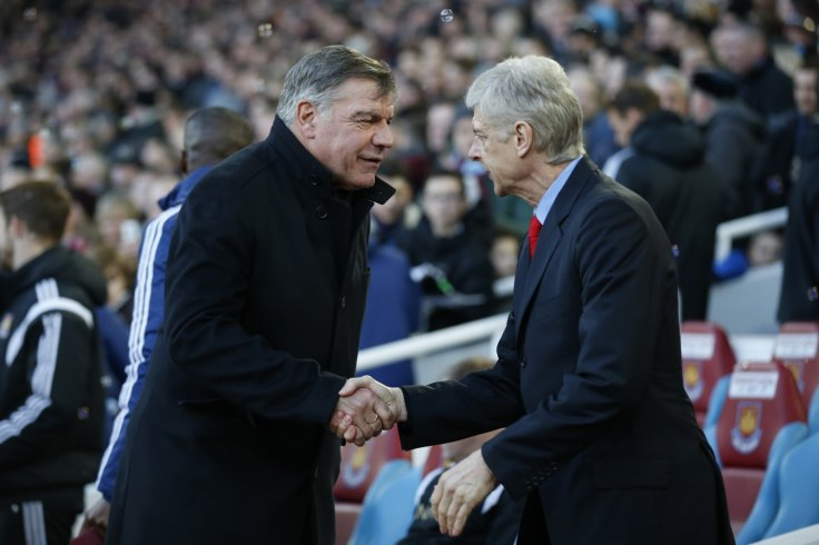 Sam Allardyce and Arsene Wenger