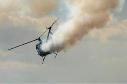 Chevron helicopter crash