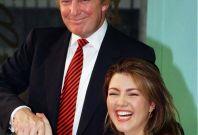 Alicia Machado and Donald Trump