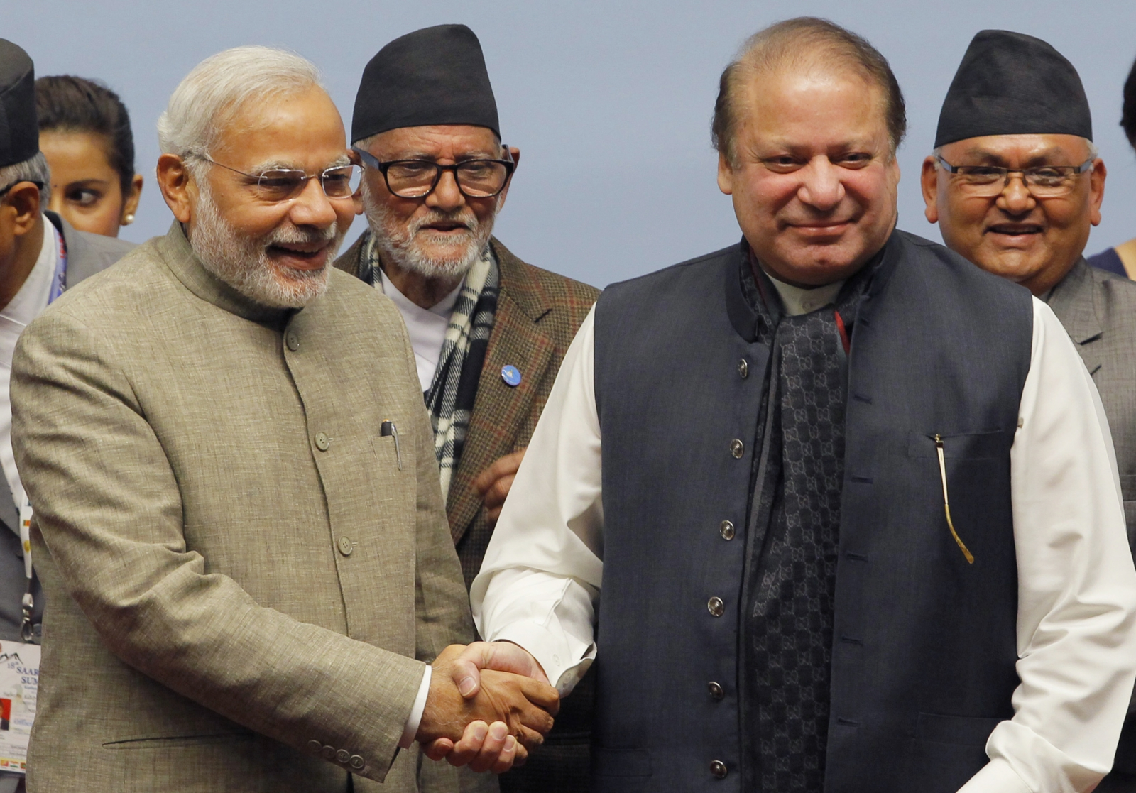 India-Pakistan at saarc summit