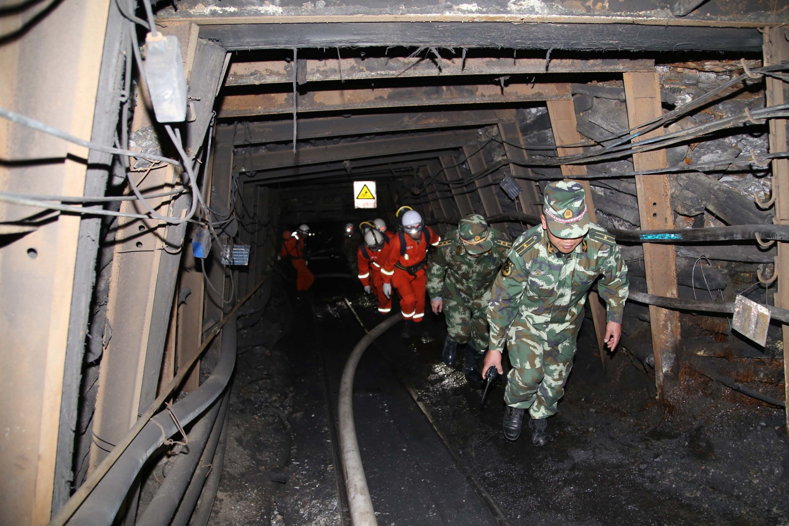 China coal mine blast