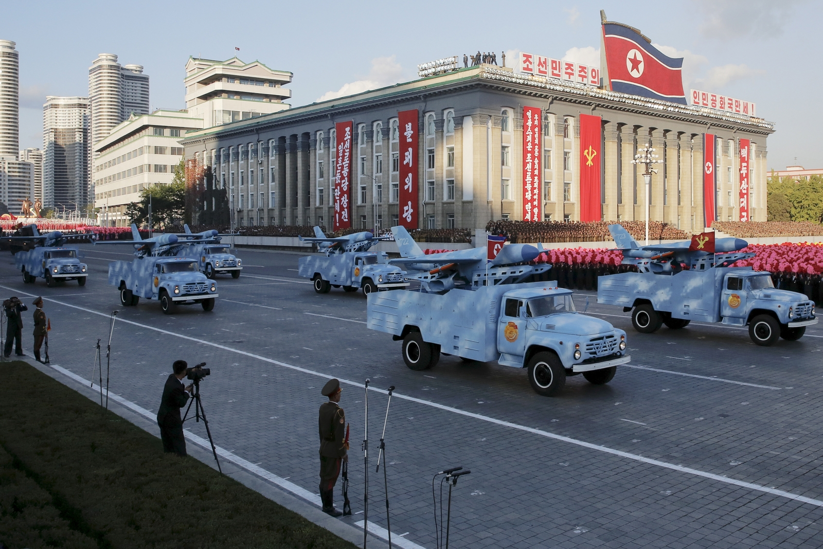 North Korea drone