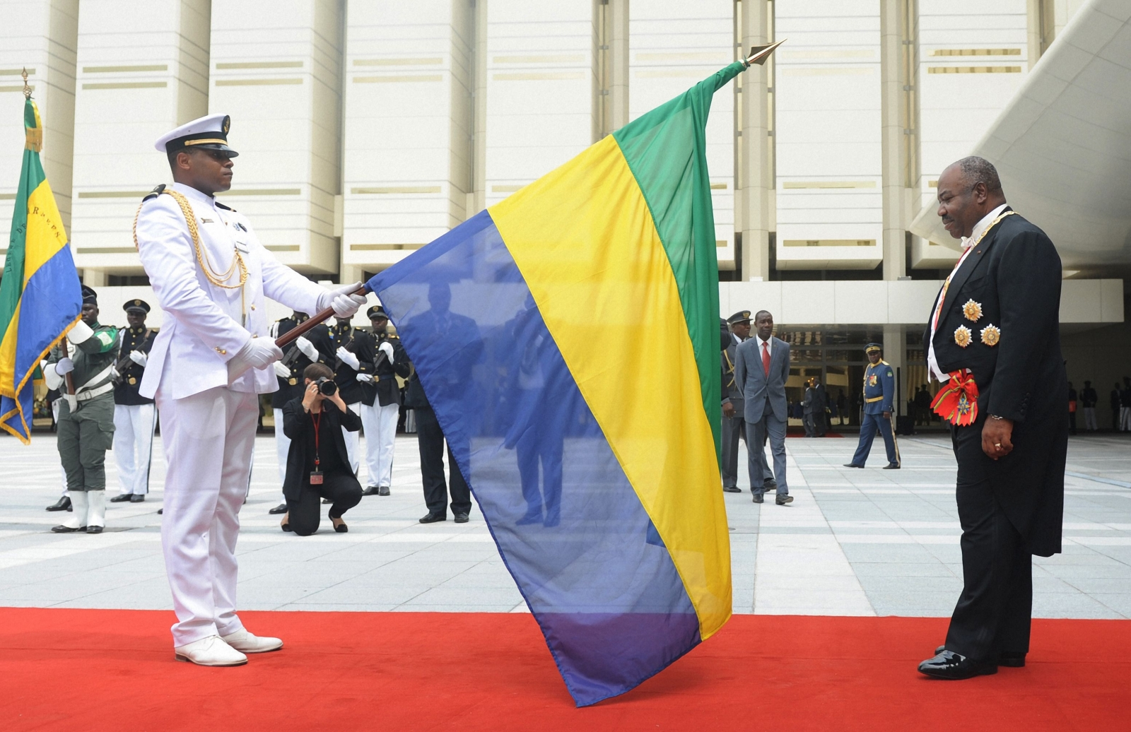 Ali Bongo inauguration ceremony