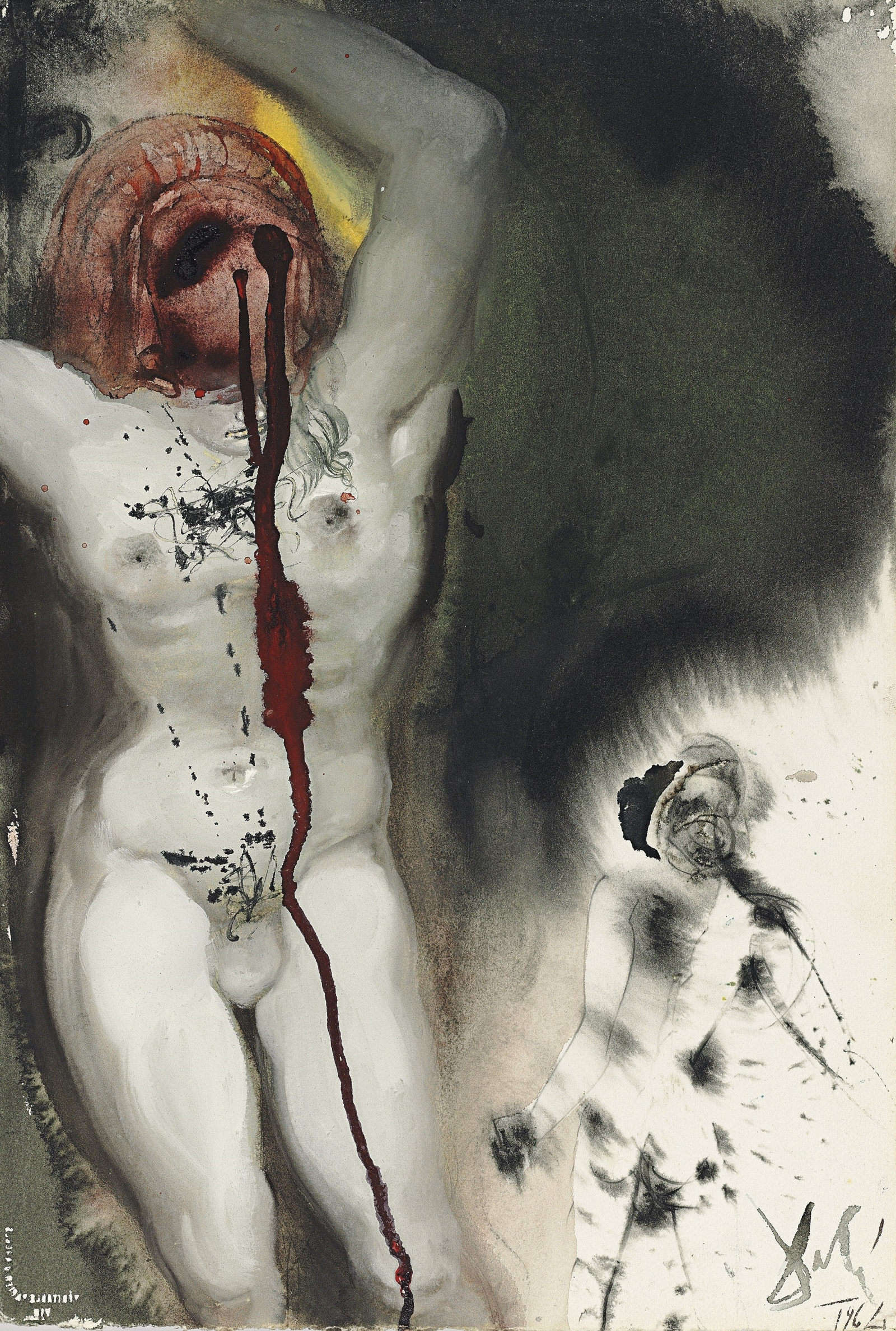 Salvador Dali David et Goliath