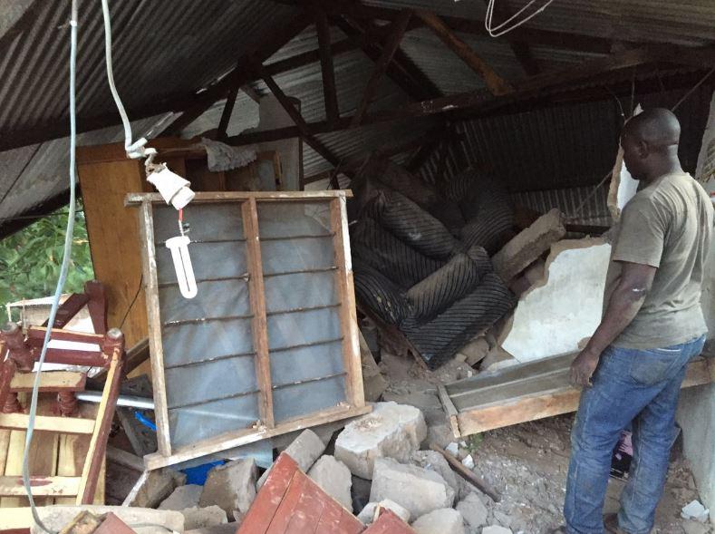 Earthquake in Kagera, Tanzania
