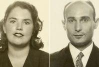 Juan Pujol and his wife, Araceli