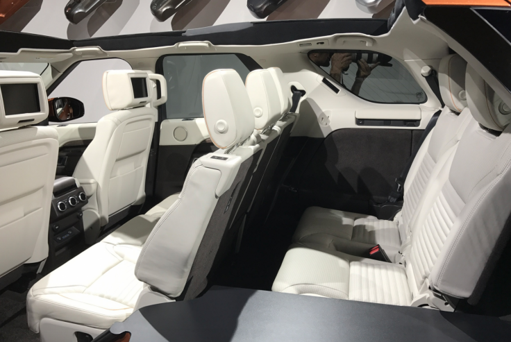 New Land Rover Discovery seats