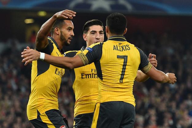 Theo Walcott was Arsenal's hero