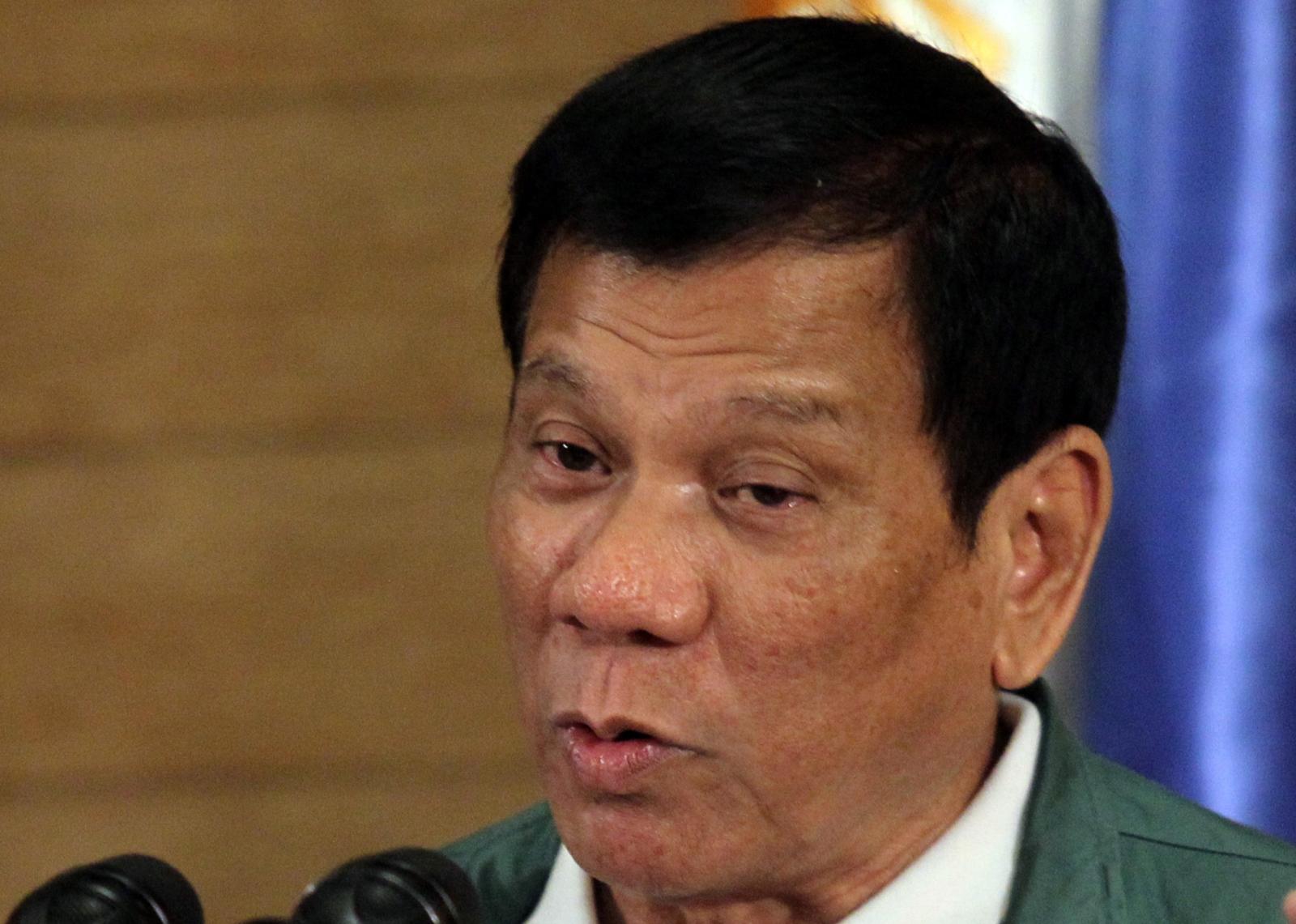 Philippines President Duterte