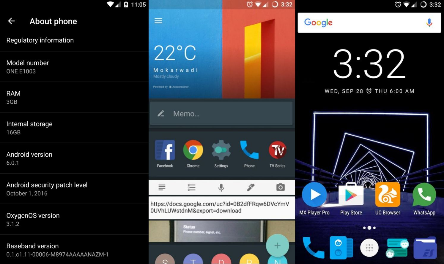 Android 6 Oneplus X