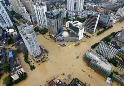 Typhoon Megi China