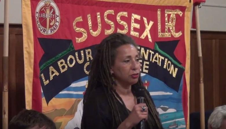 Jackie Walker, vice-chair of Momentum