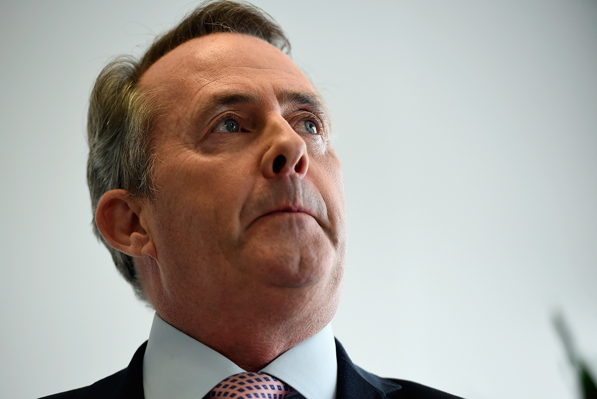 Brexit: Liam Fox suggests the EU is 'blackmailing' the UK
