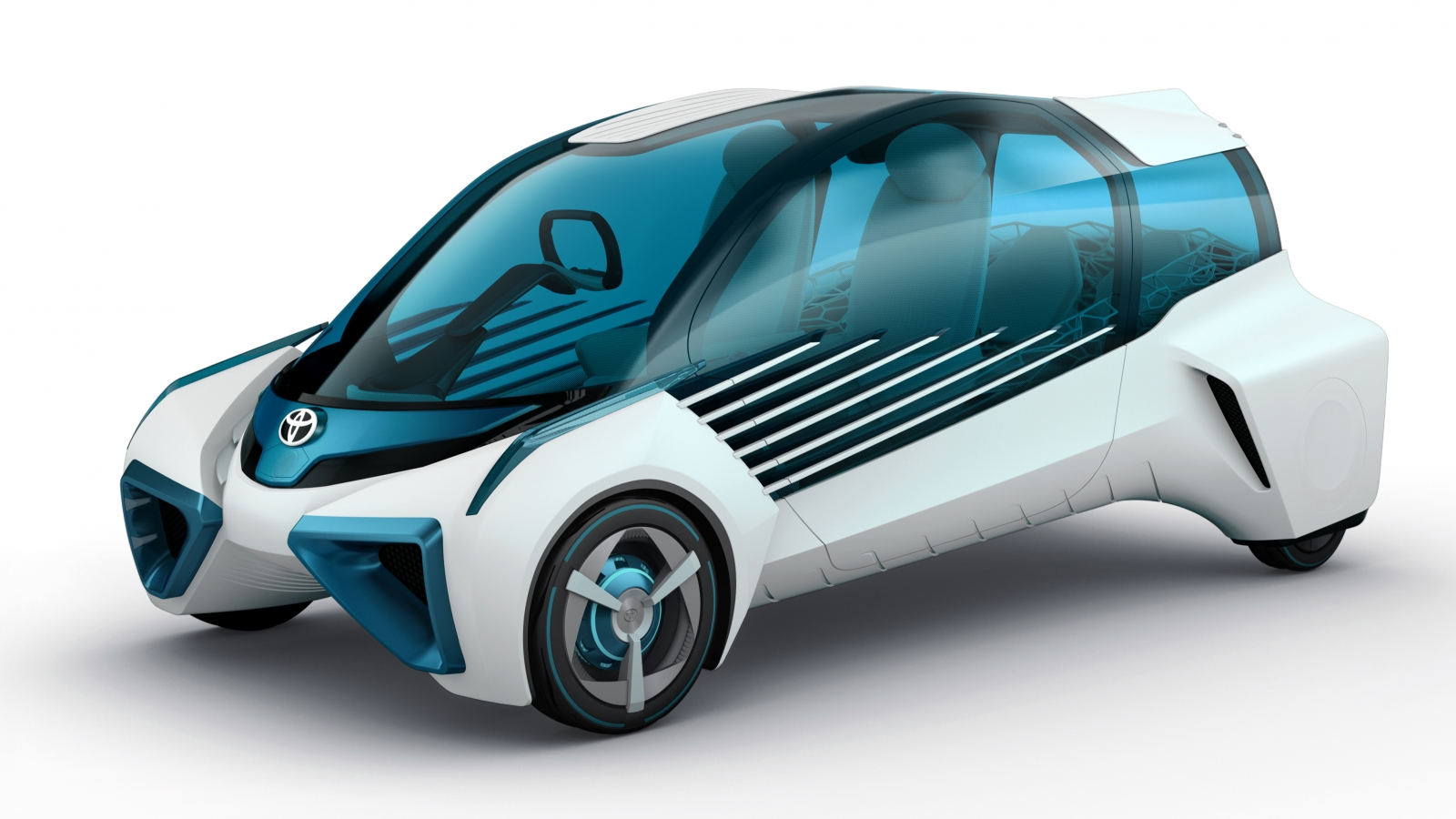 Toyota fuel cell FCV Plus concept