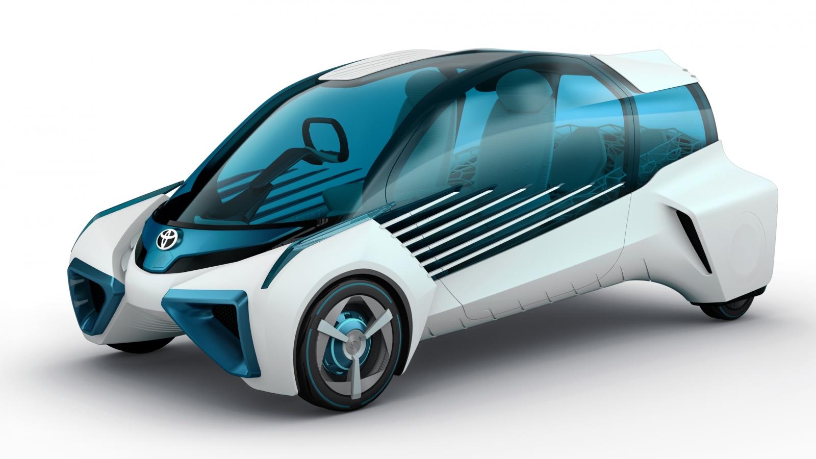 Toyota fuel cell FCV Plus concept