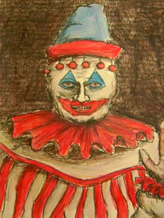 scary clown creepy