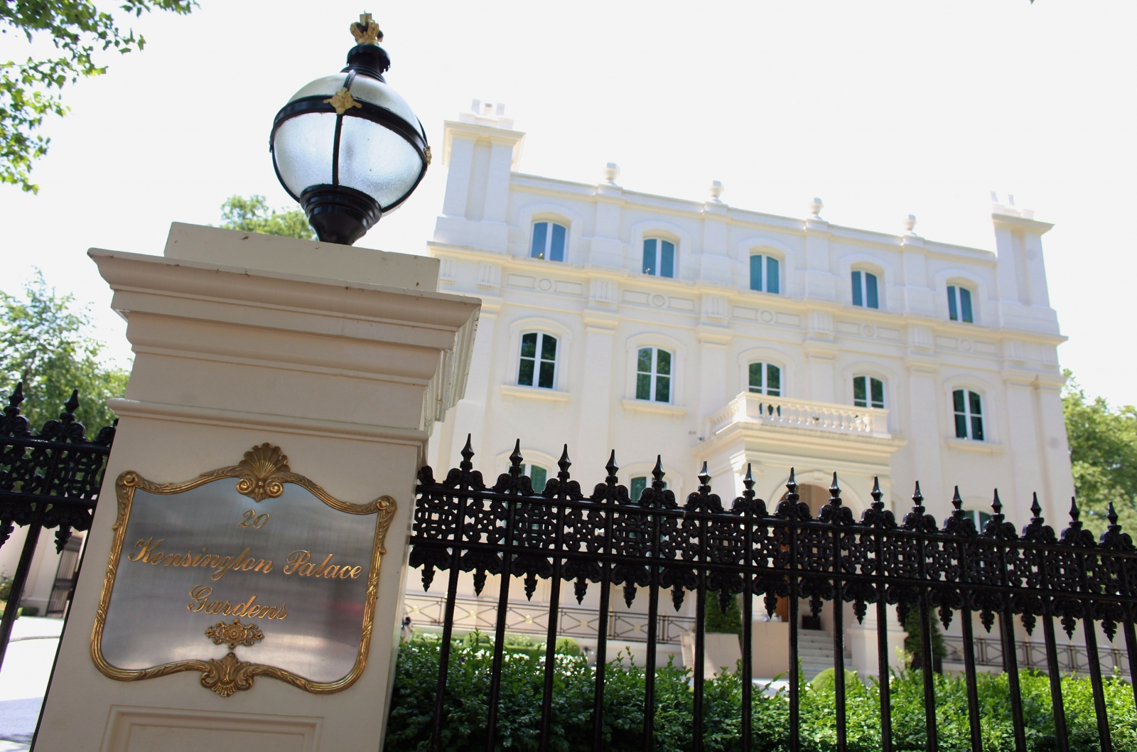 Kensington Palace Gardens property house prices