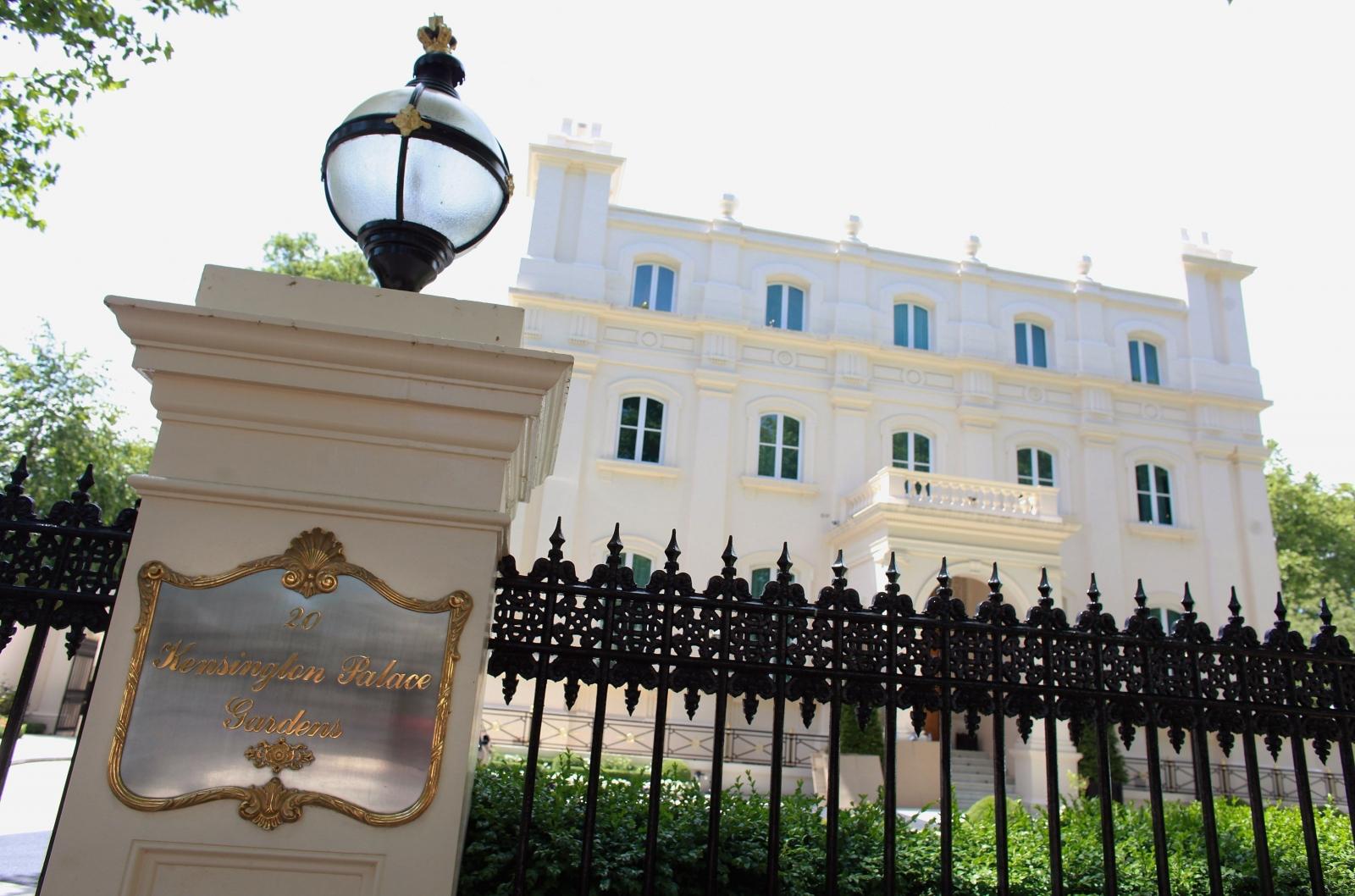 Kensington Palace Gardens property house prices