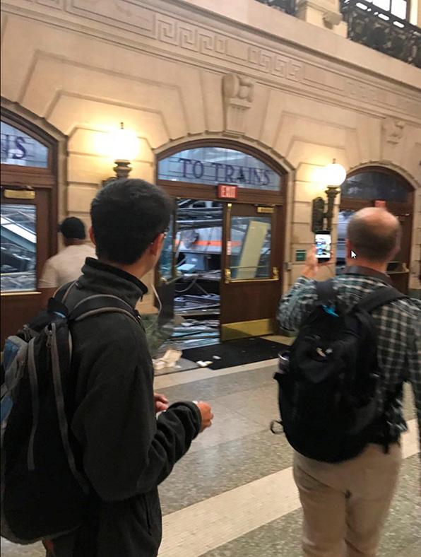 Hoboken train crash New Jersey