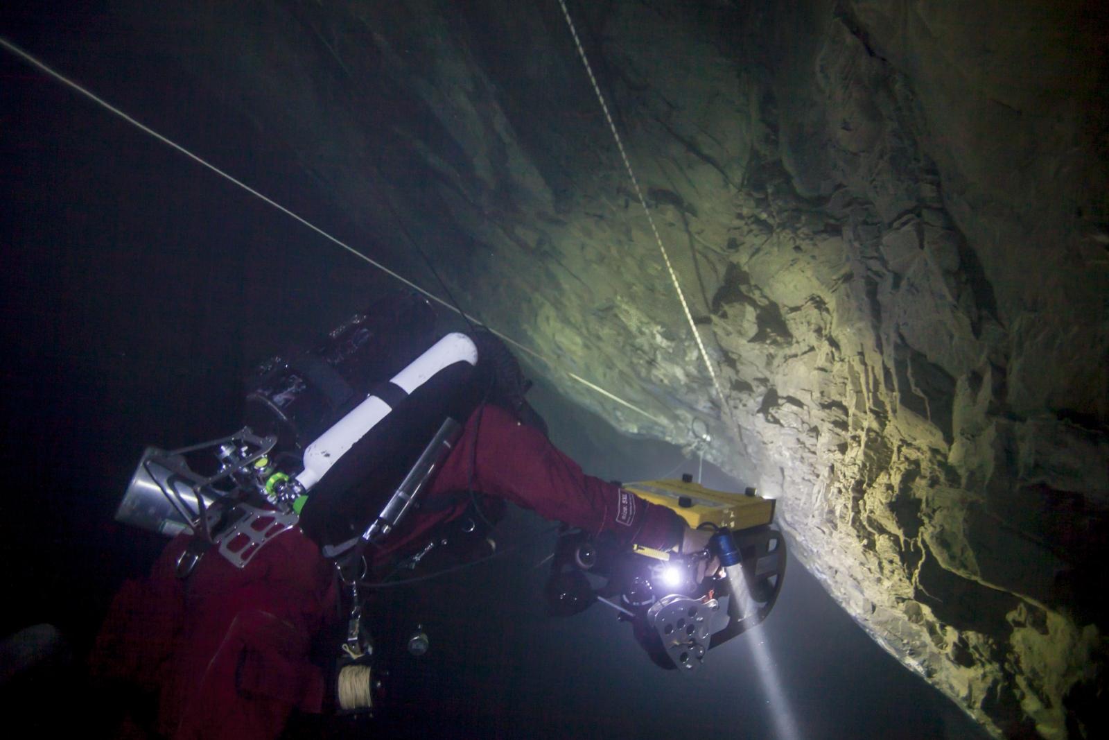 Hranická Propast world's deepest cave