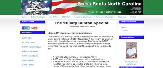 Hillary Clinton Special assault rifle