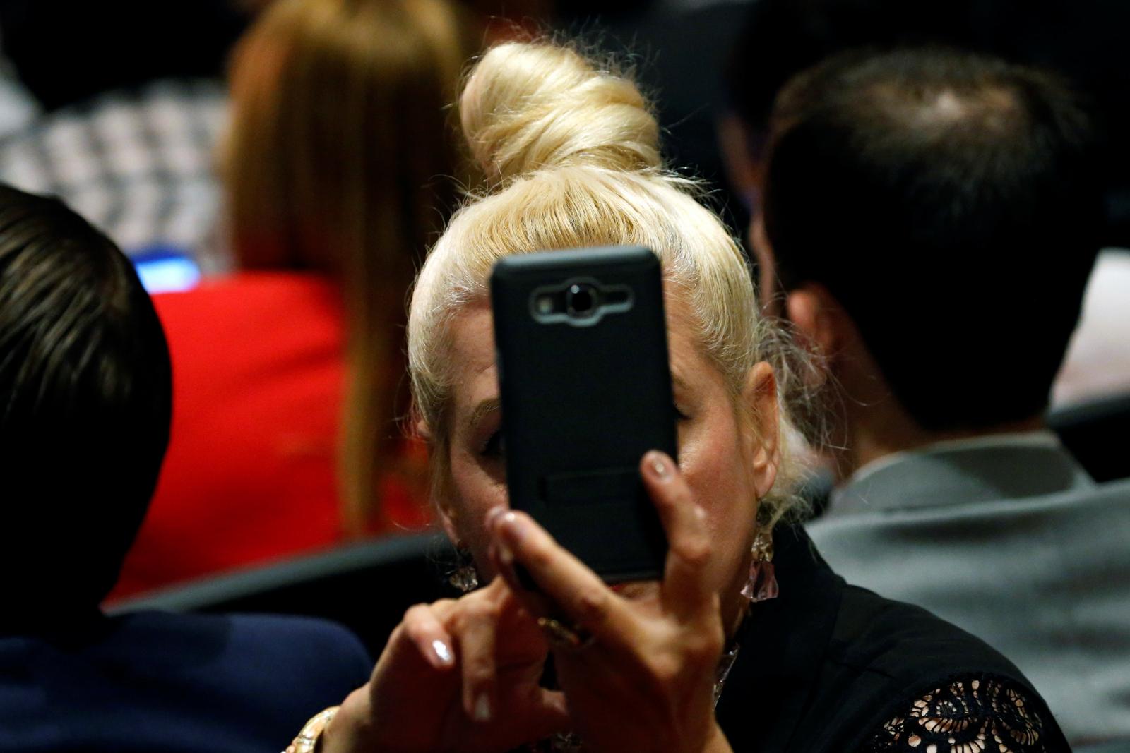 voting booth selfies