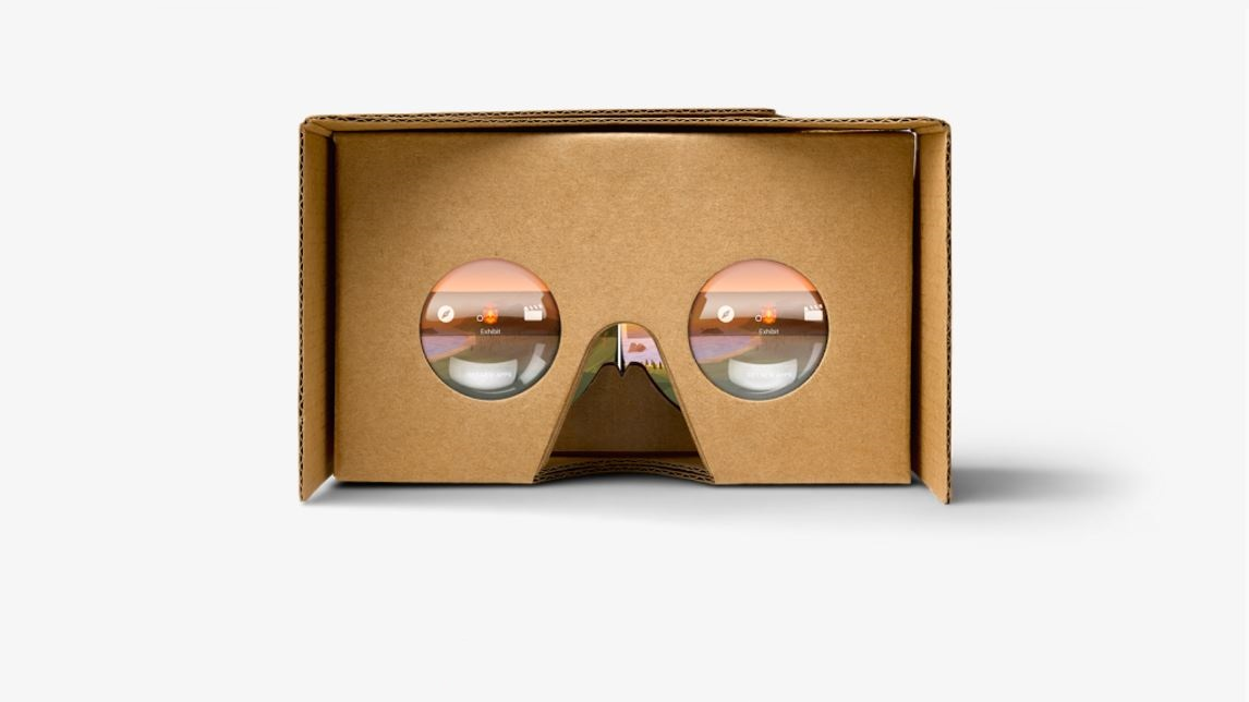 Google Cardboard viewer