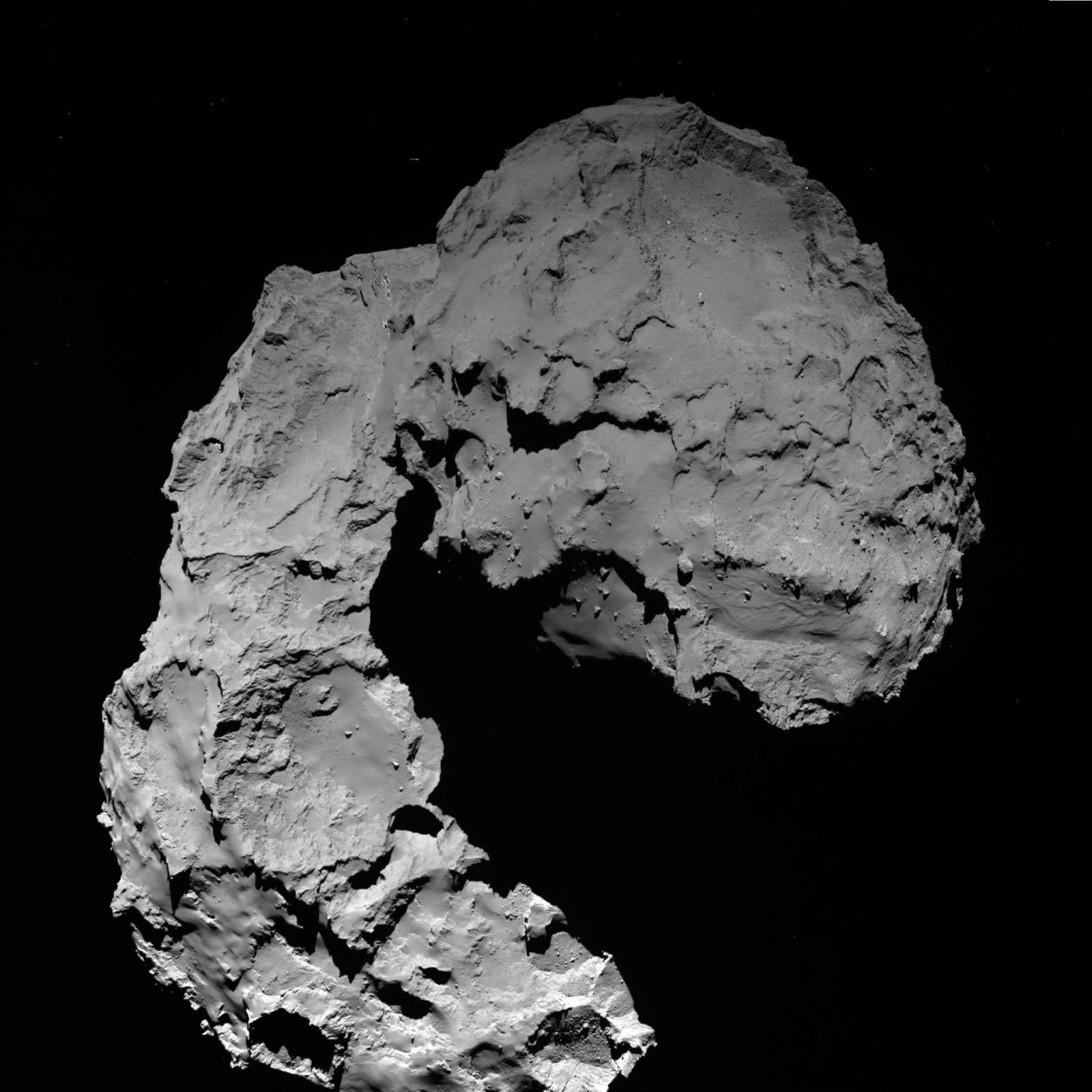 comet landing rosetta esa
