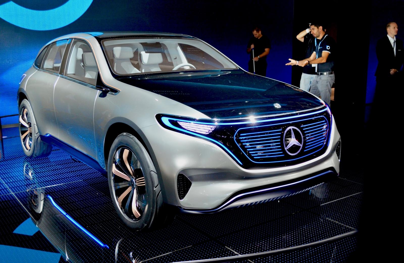 Mercedes Generation EQ concept car