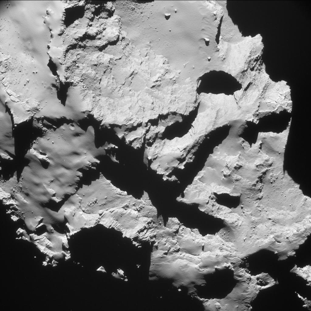 rosetta comet landing esa