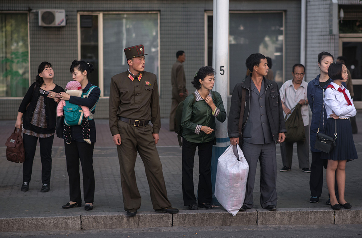 Pictures of daily life in Pyongyang 84