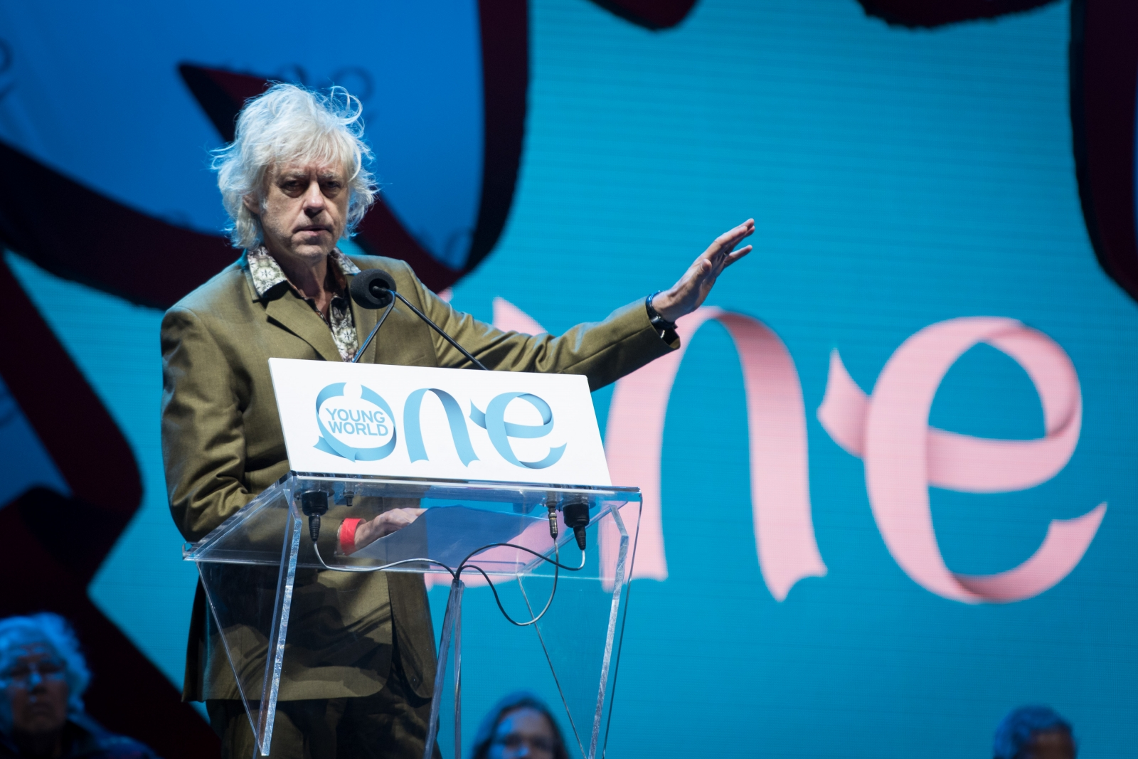 Bob Geldof calls Donald Trump 'a racist liar vomiting bile over the US'