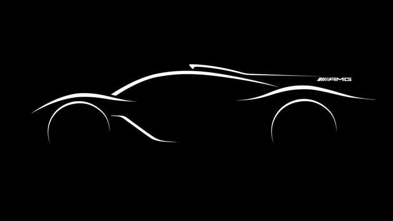 Mercedes AMG hypercar sketch