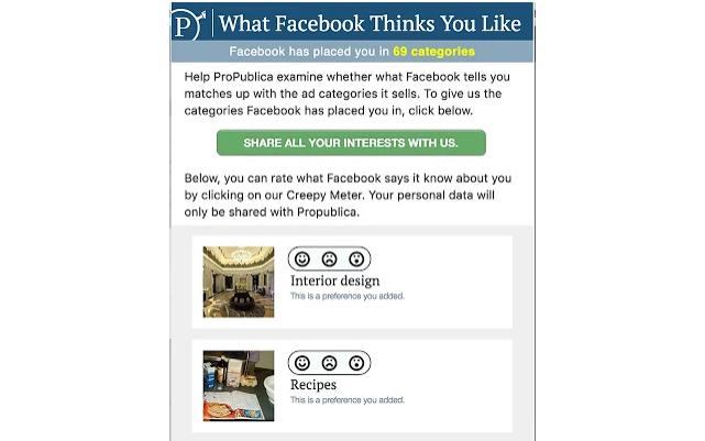 Facebook secret algorithms