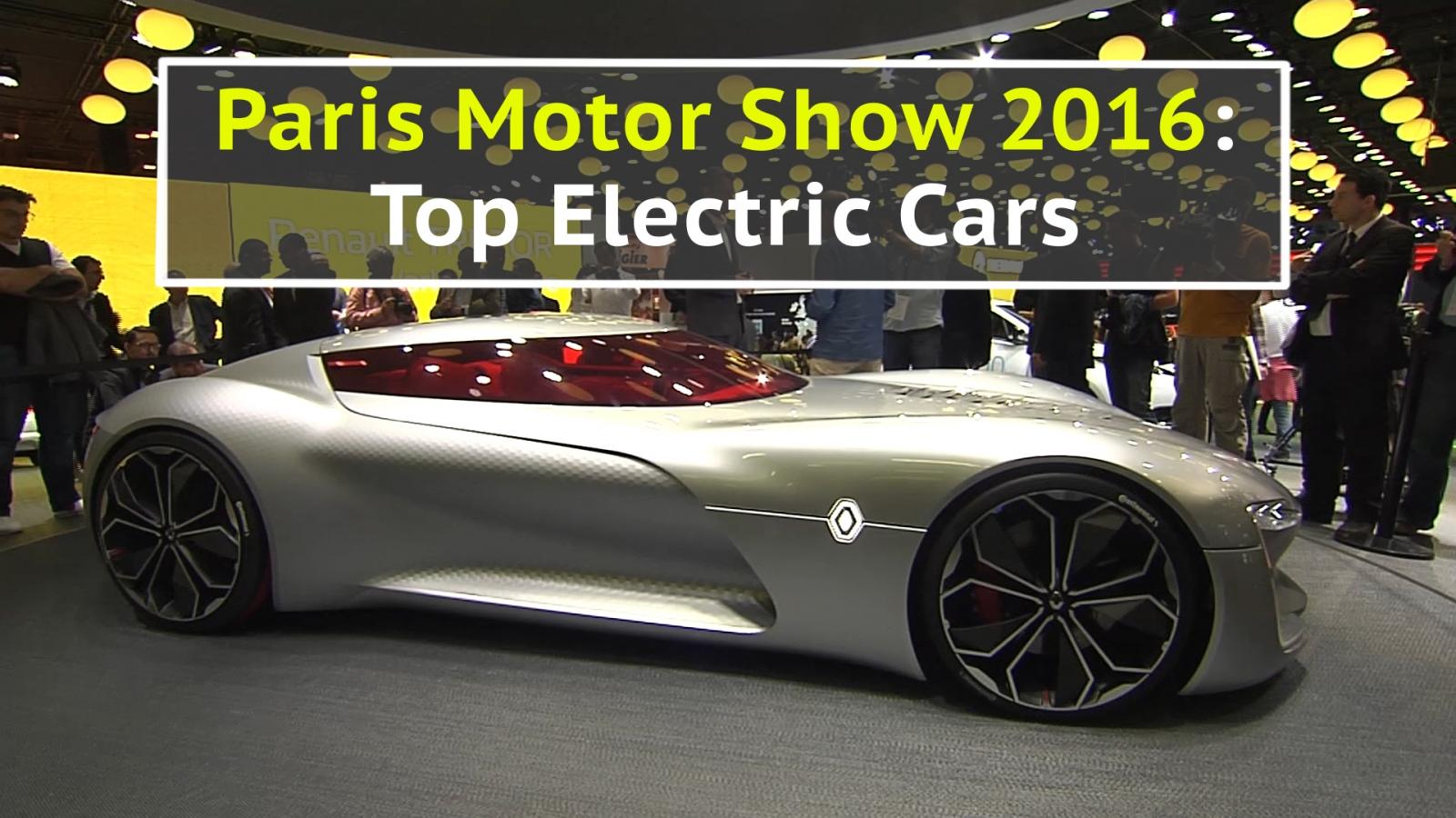 paris motor show 2016 the best electric cars. Black Bedroom Furniture Sets. Home Design Ideas