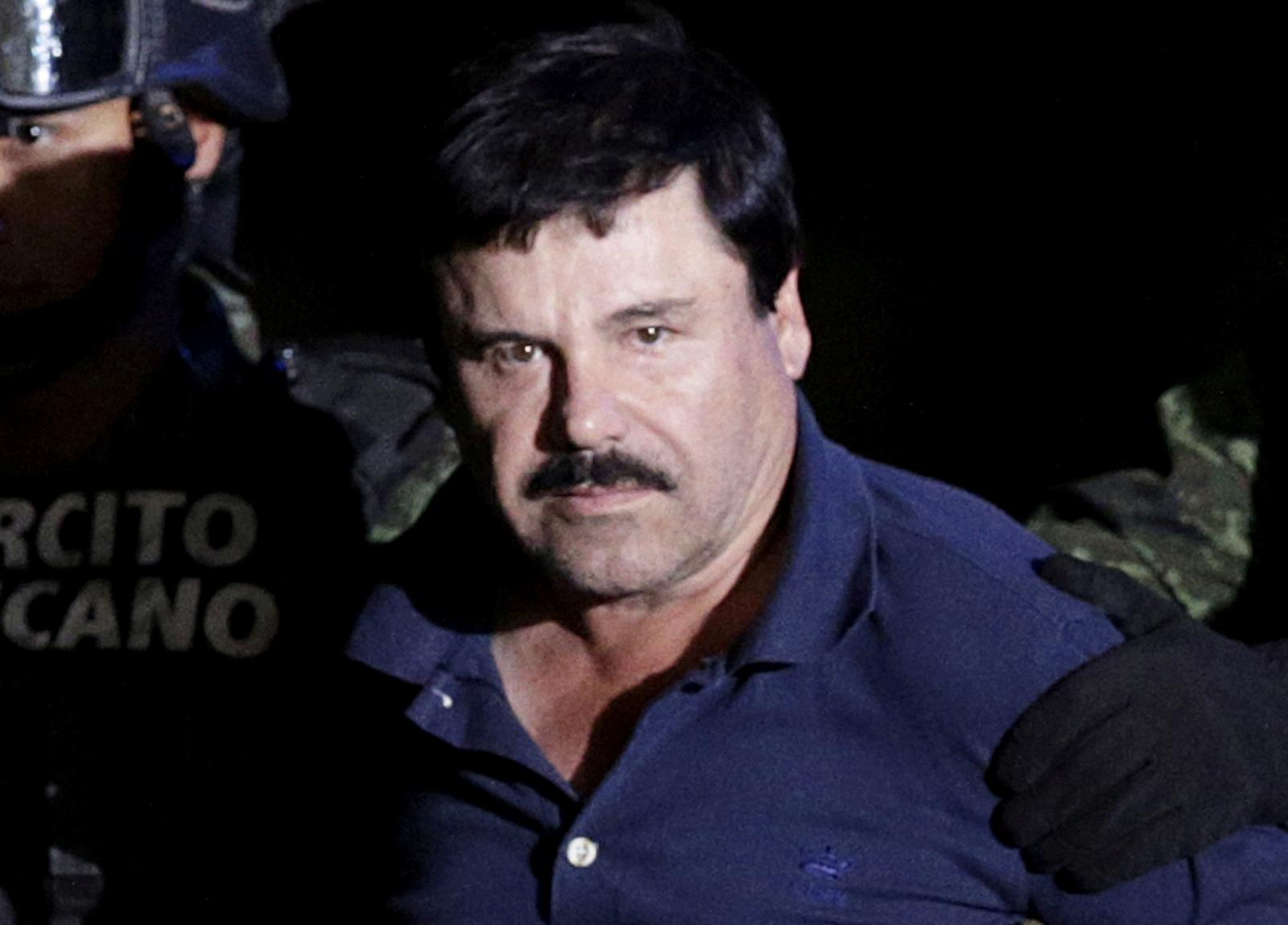 """Drug kingpin Joaquin """"El Chapo"""" Guzman"""