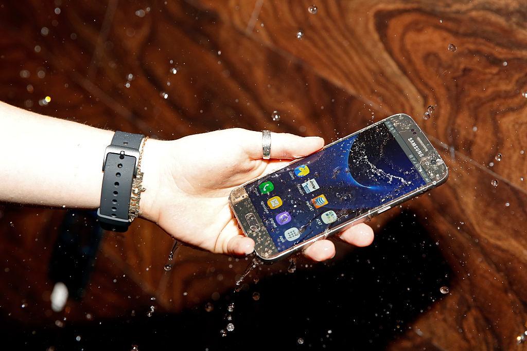 A Samsung Galaxy Phone
