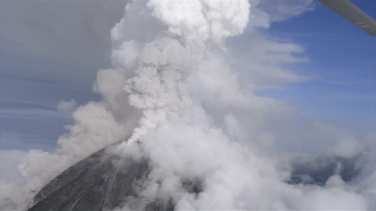 Mexico's Colima volcano erupts, forcing nearby communities to flee