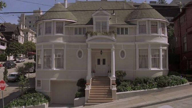 House used in Mrs. Doubtfire