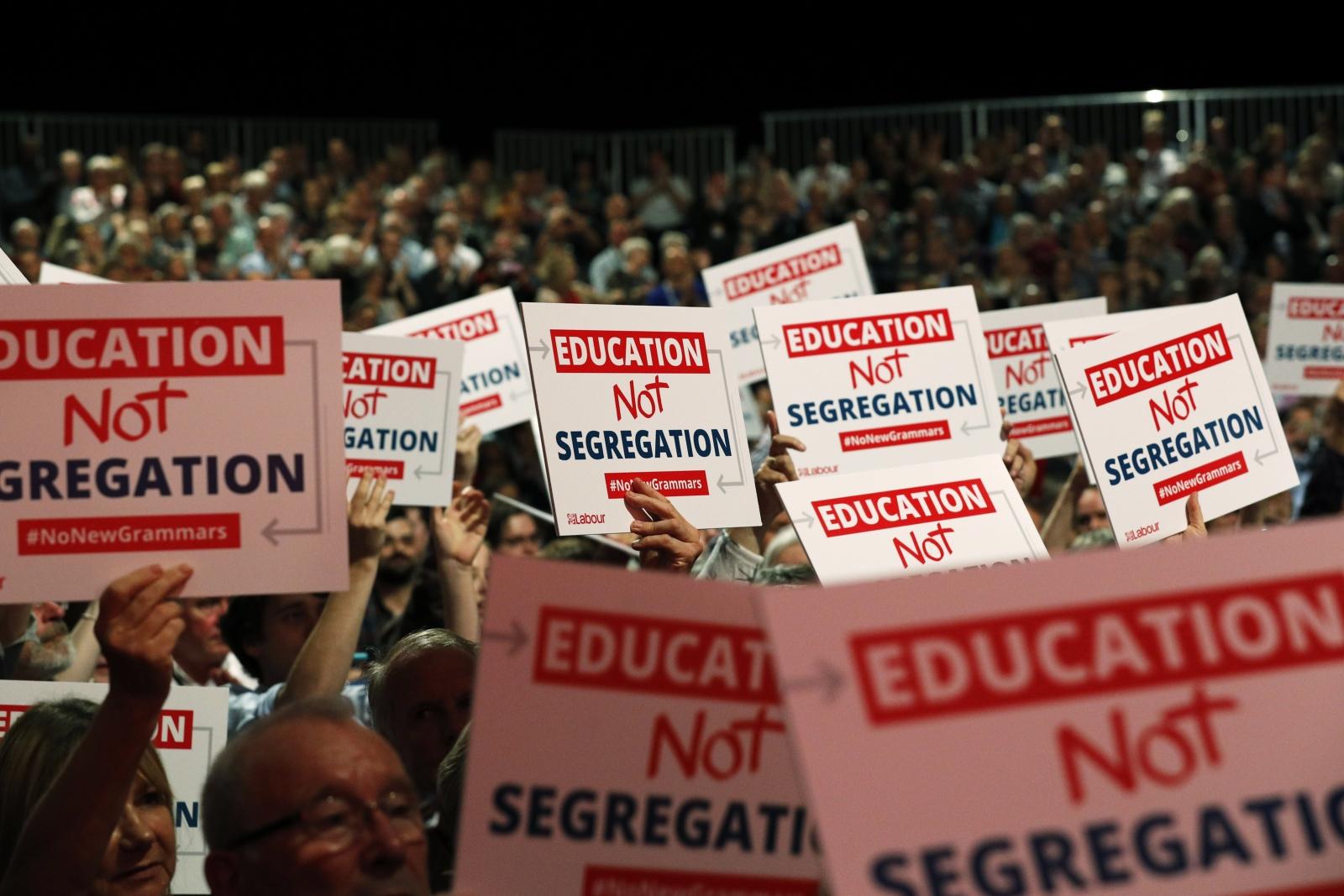 Labour's Education Not Segregation Campaign