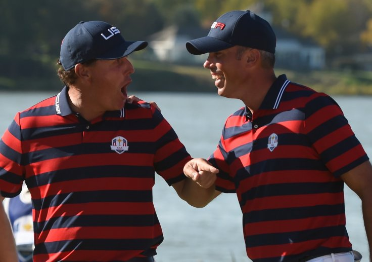 Phil Mickelson and Matt Kuchar