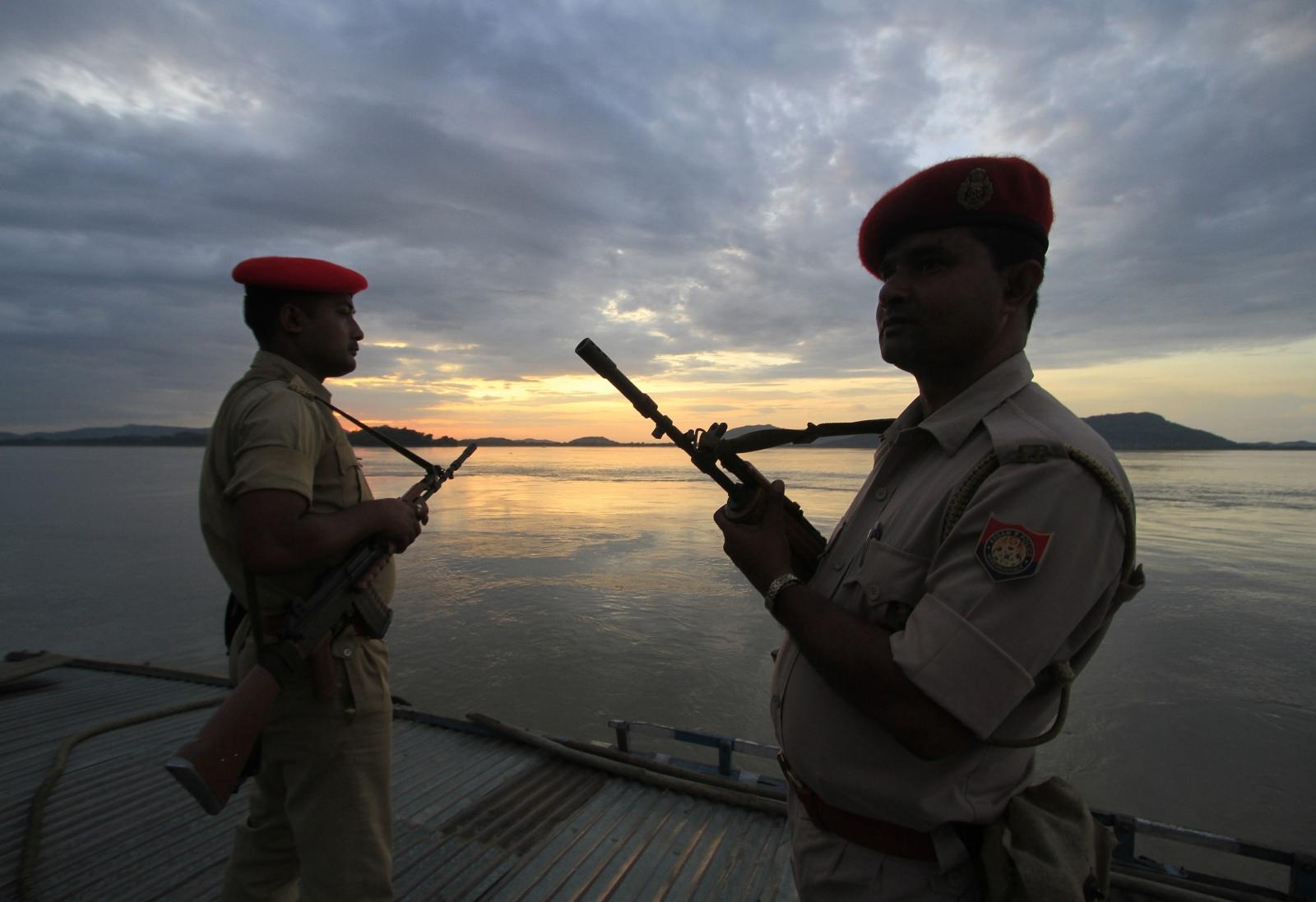 India China river Brahmaputra